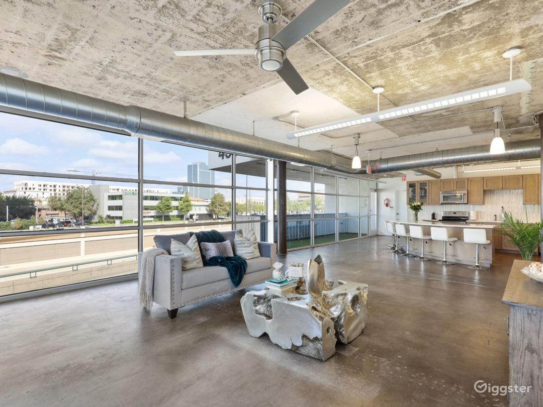 Striking and Versatile Industrial Loft Photo 1