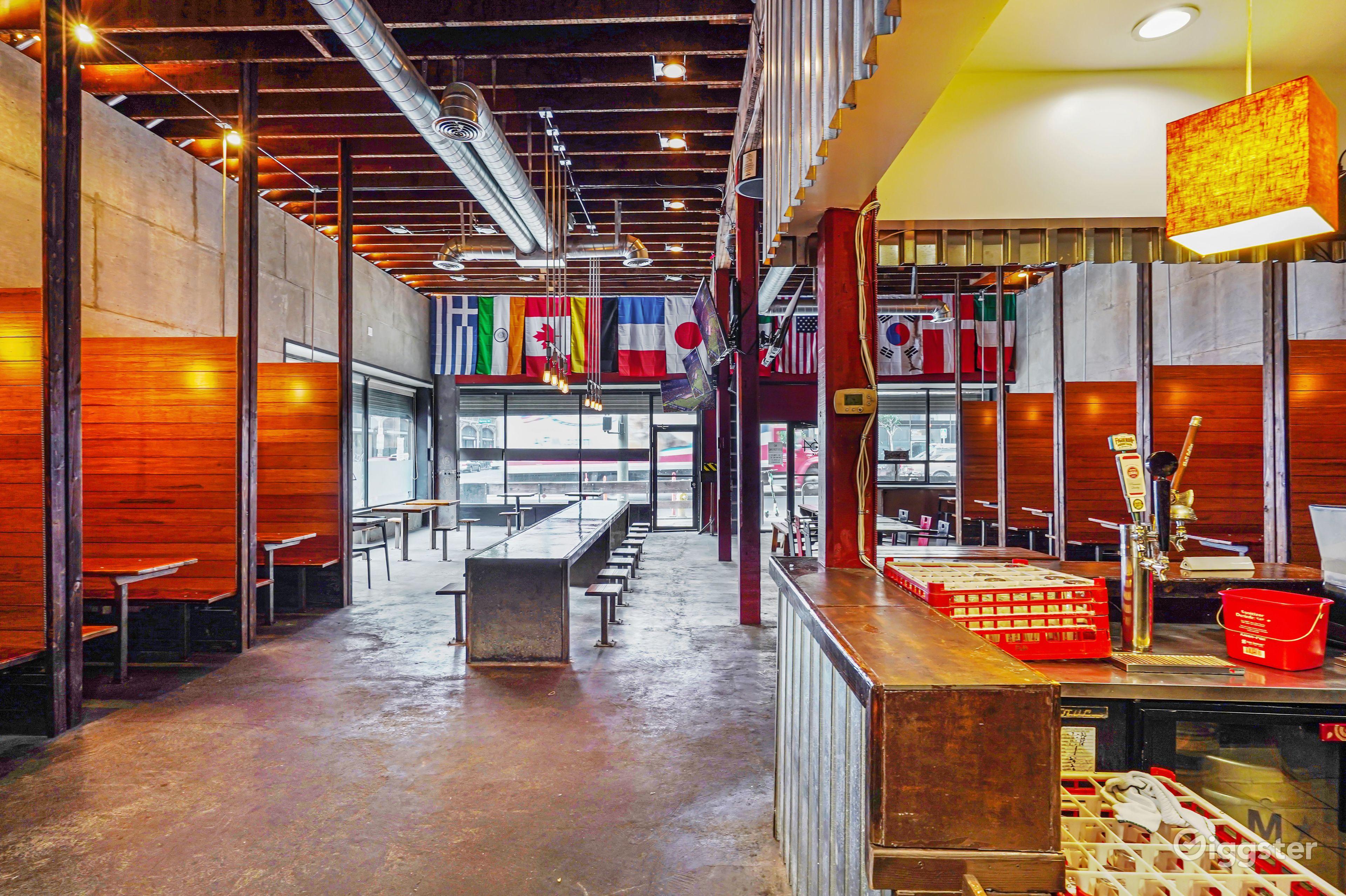 Rustic Modern Gastropub Restaurant Sports Bar Rent This Location On Giggster