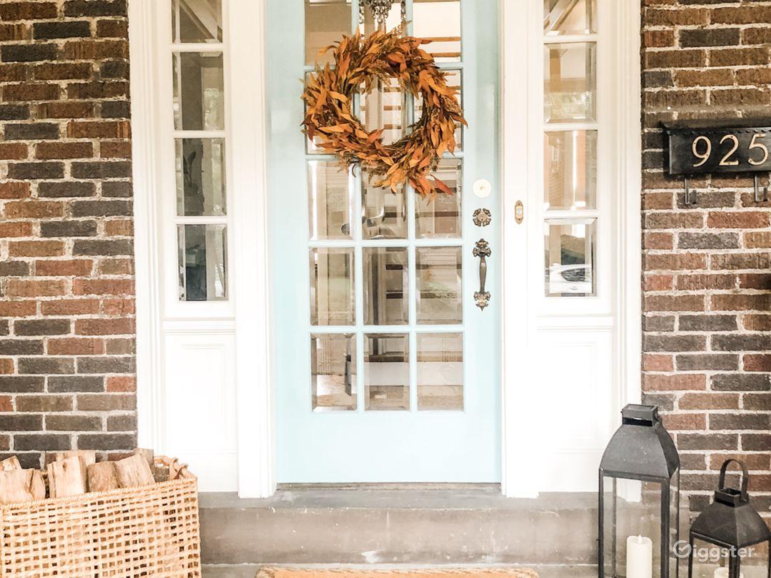 Beautiful front door!