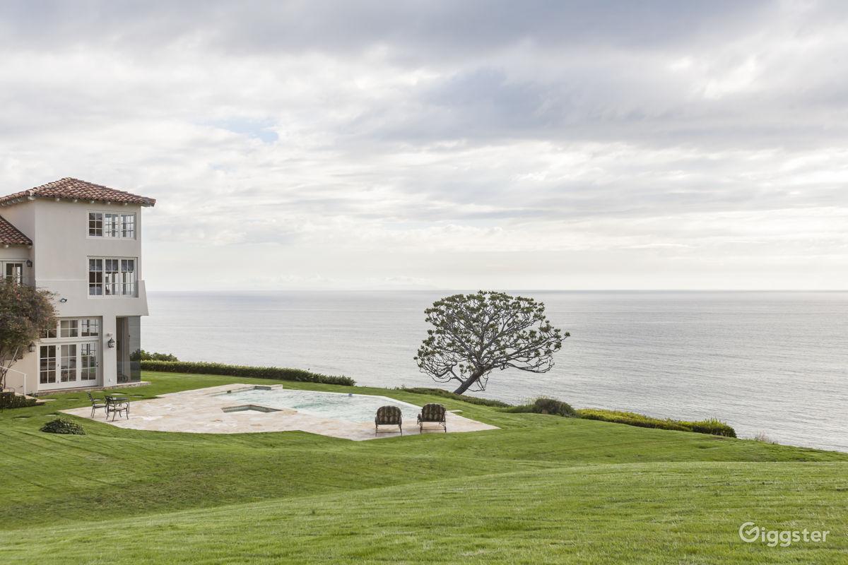 Ocean View Mansion in Malibu Los Angeles Rental