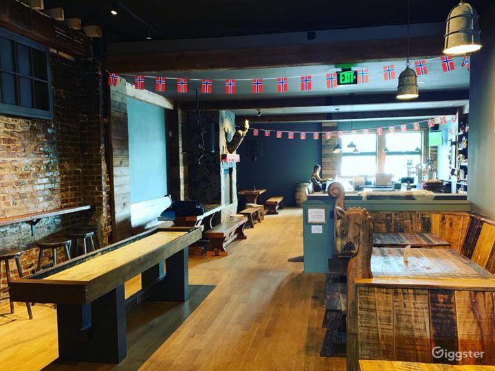 Viking Beer Hall in Seattle