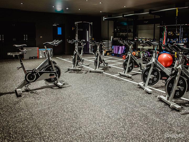 Spacious Fitness Center in Edinburgh