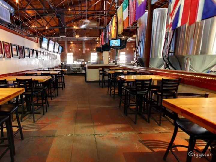 Taproom Dining Space in Tempe
