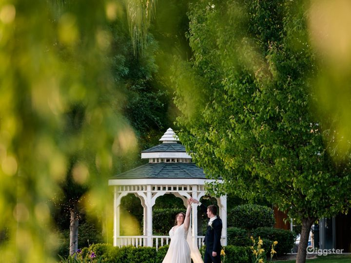 Romantic Grass with Trees venue I in Shafter Photo 3