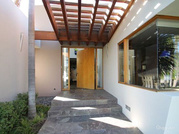 Modern Desert Tropical Home with Pool  Photo 2