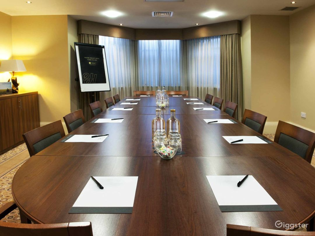 Elegant Boardroom in Leeds Photo 1