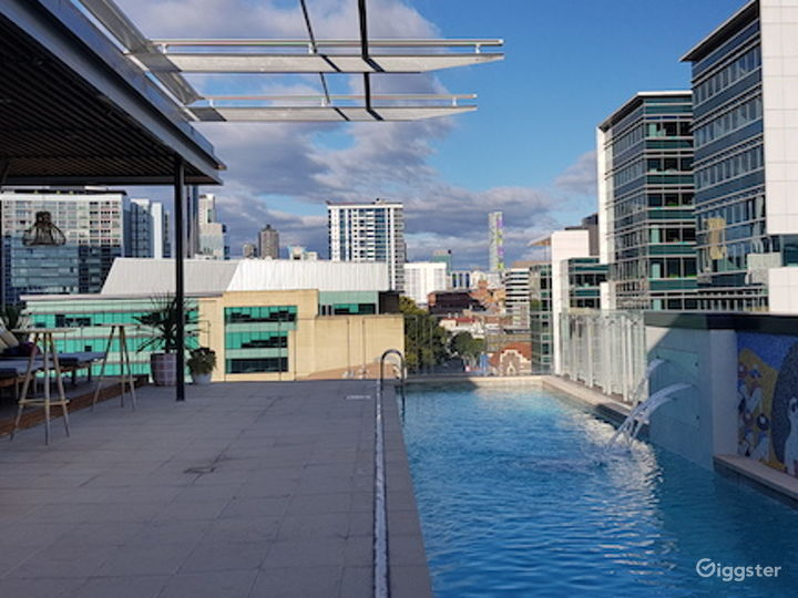 Rooftop Pool Side with a Perfect View  Photo 3