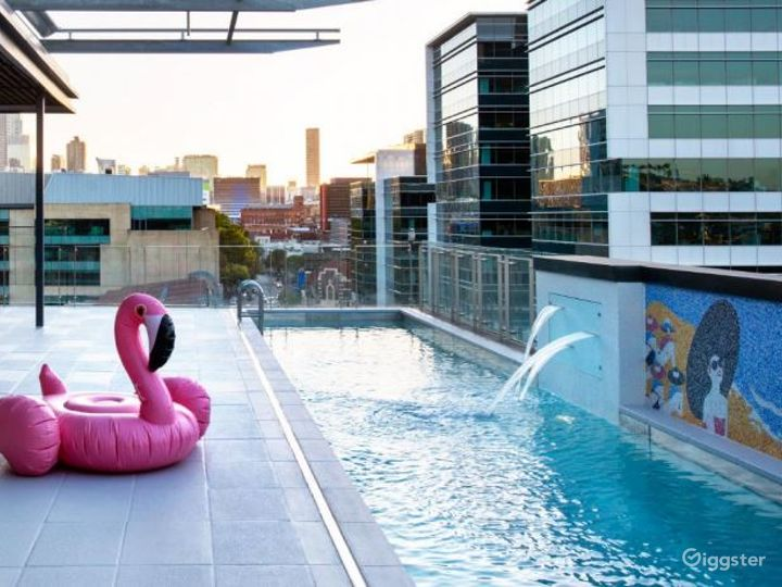 Rooftop Pool Side with a Perfect View  Photo 4