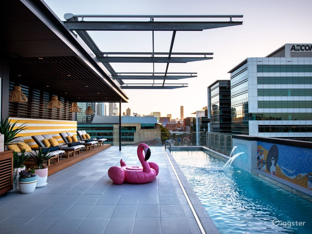 Rooftop Pool Side with a Perfect View  Photo 1