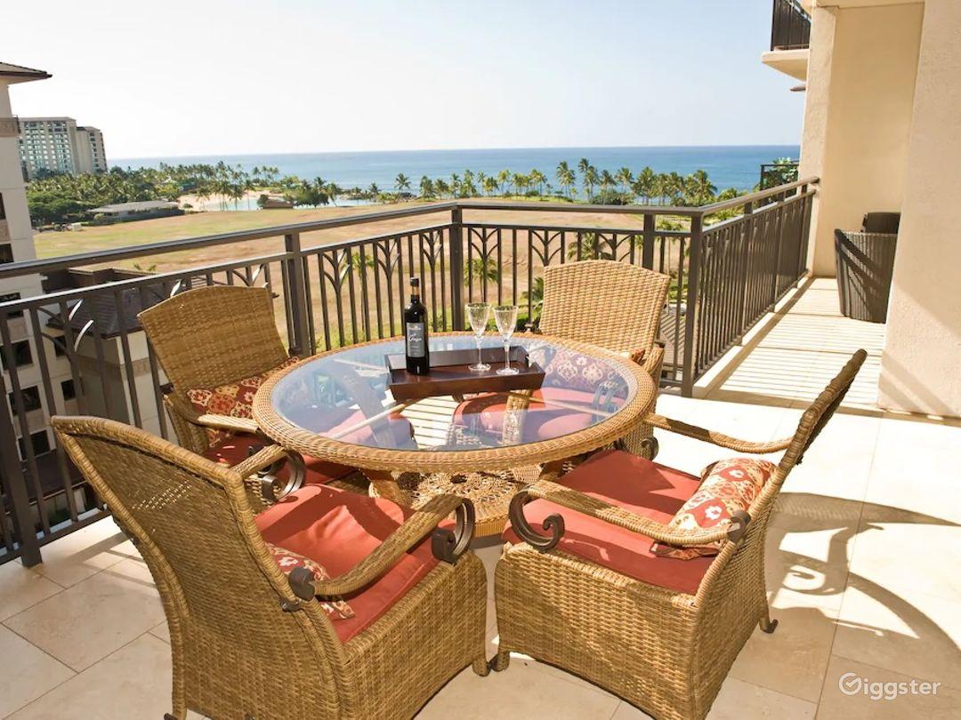 Luxury Ko Olina Beach Rental Panoramic Ocean View 3BR 3BA 8th Floor 2 Parking Photo 1