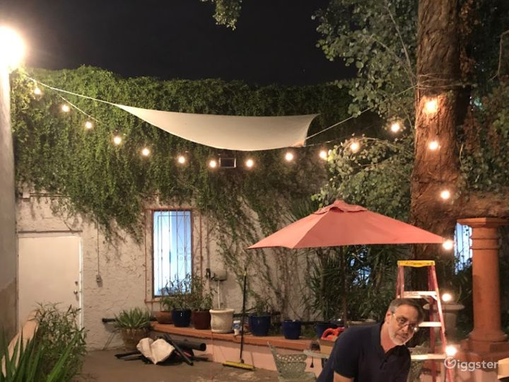 Airy Garden Area Perfect For Photoshoot in Phoenix Photo 3
