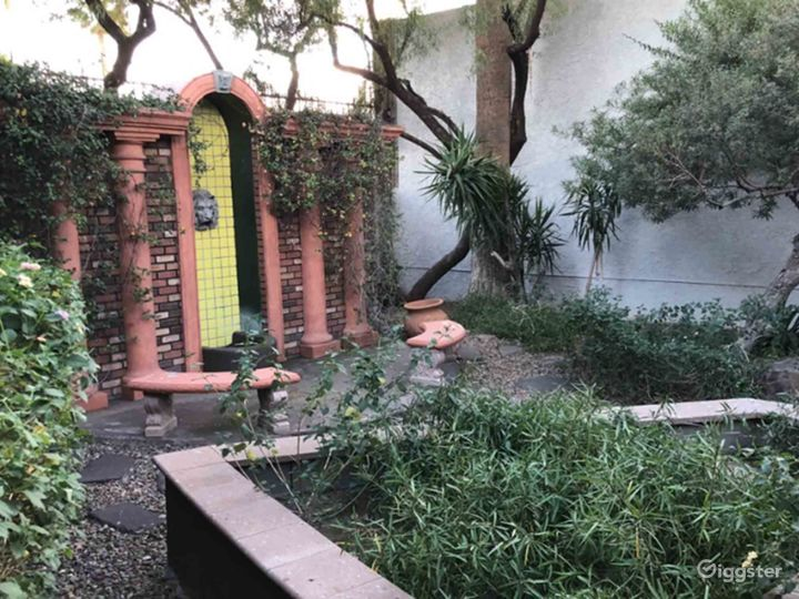 Airy Garden Area Perfect For Photoshoot in Phoenix Photo 5