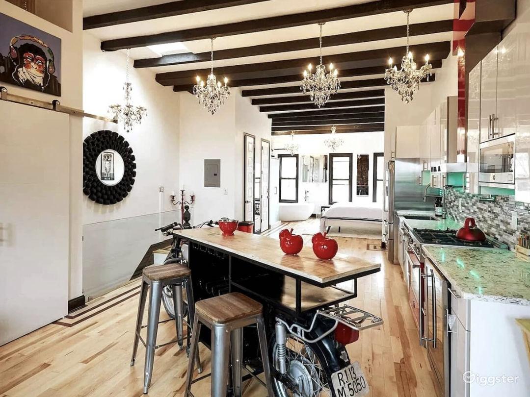 Open Floor Concept. Full Upstairs penthouse
