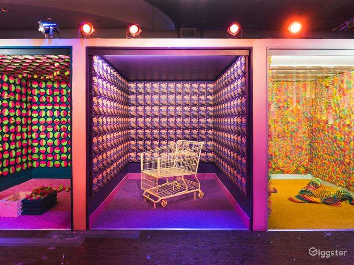 10,000 sqft immersive art installation