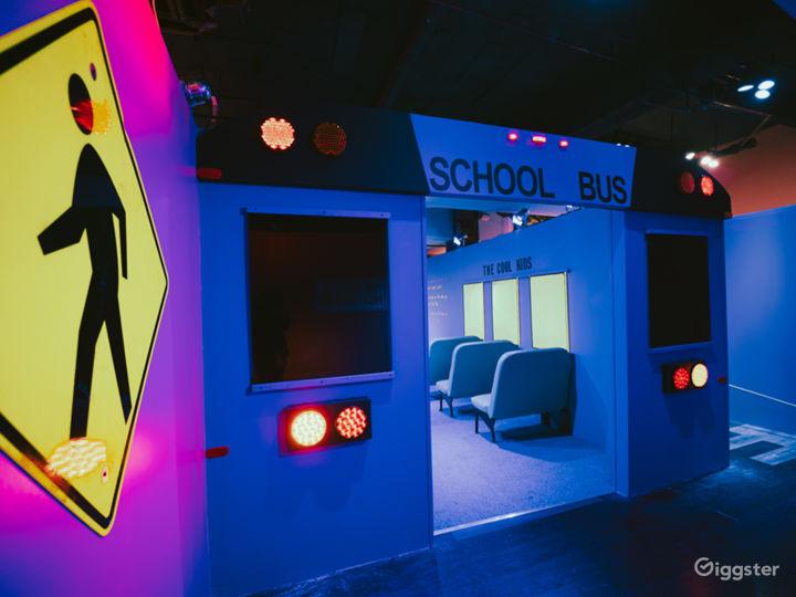 10,000 sqft immersive art installation Photo 2