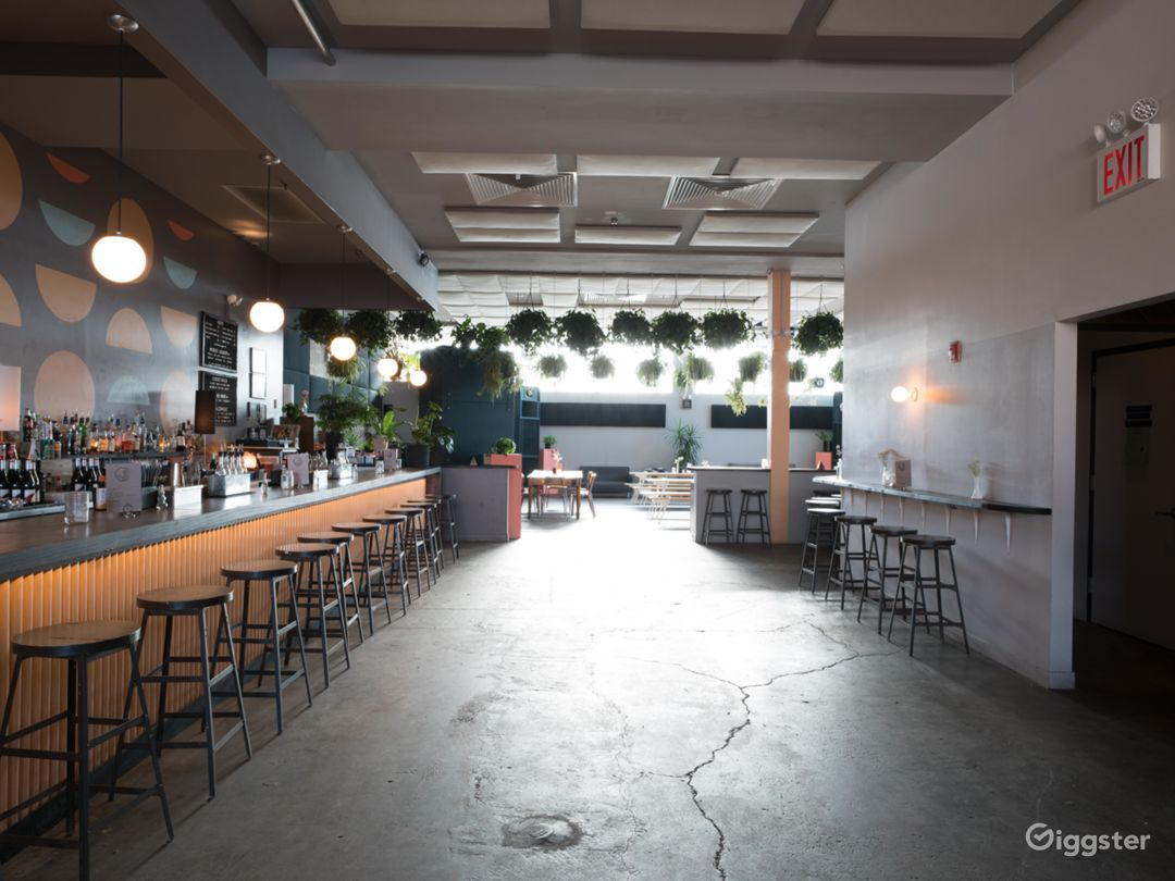 Large Plant-Filled Venue in Ridgewood, Queens Photo 1