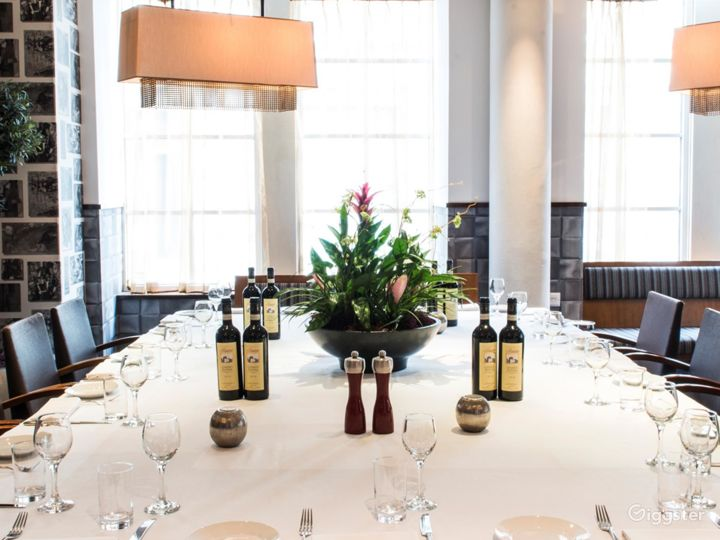 Private Room in an Italian Restaurant in Blackfriars, London Photo 2