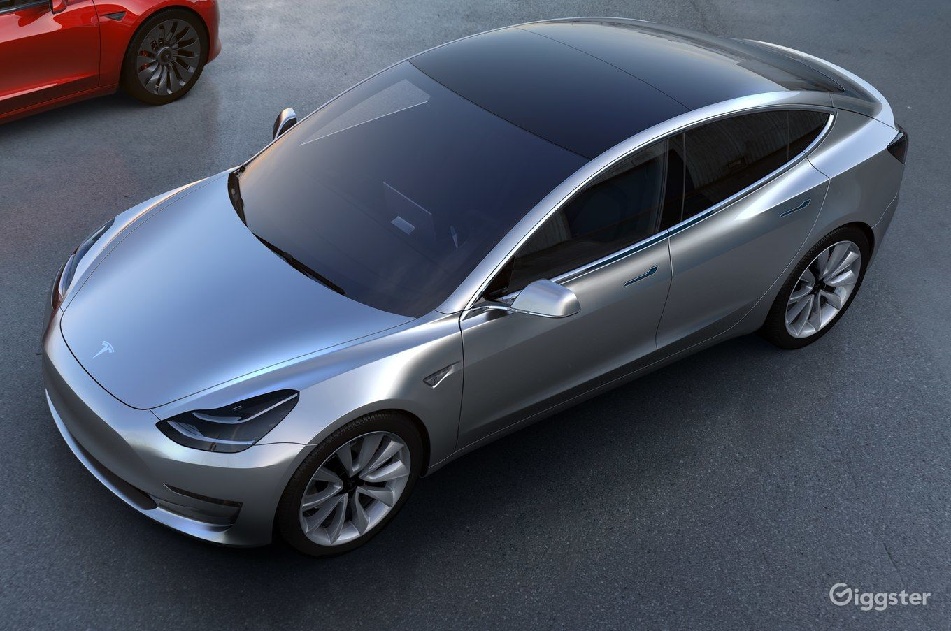 Model 3 Tesla - Silver | Rent this location on Giggster
