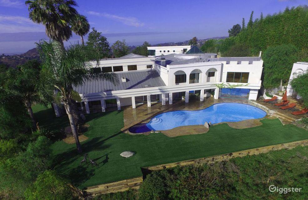 Private Mega Mansion in Beverly Hills Los Angeles Rental