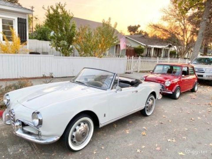 1957 Alfa Romeo convertible