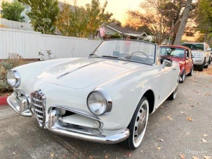 1957 Alfa Romeo convertible Photo 3