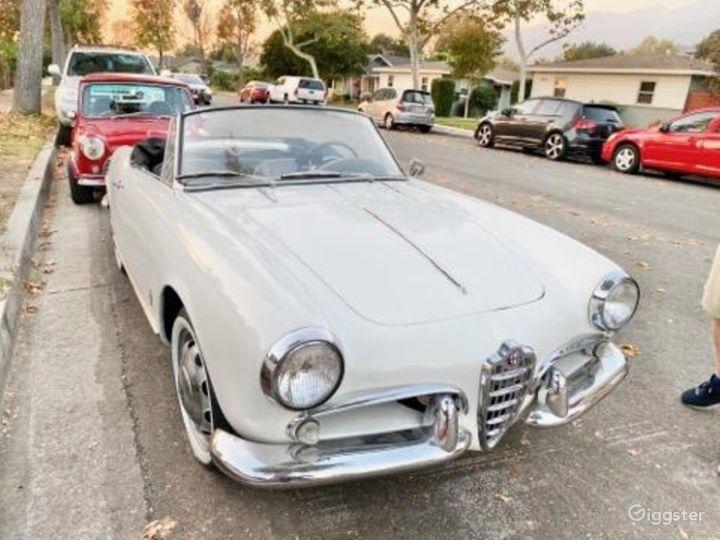 1957 Alfa Romeo convertible Photo 2