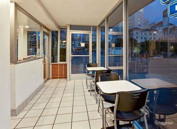 Hotel Dining Area in LA Photo 1