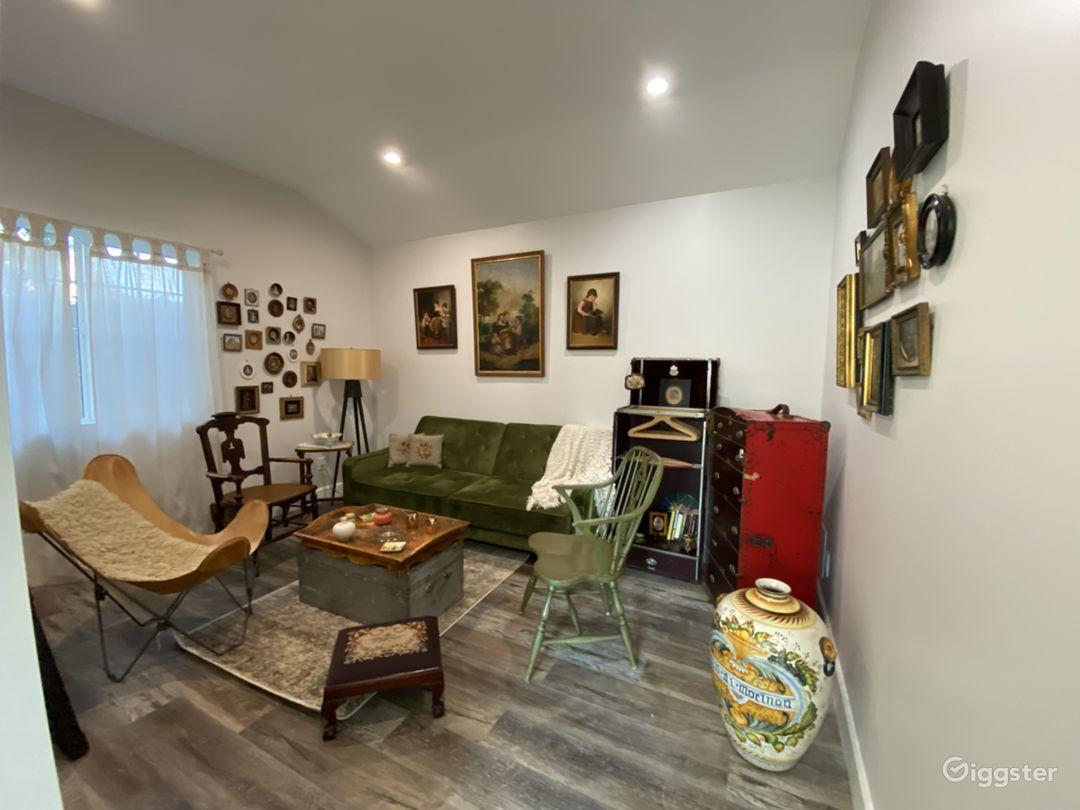 Suburban Studio with Rustic/Boho Designs Photo 1