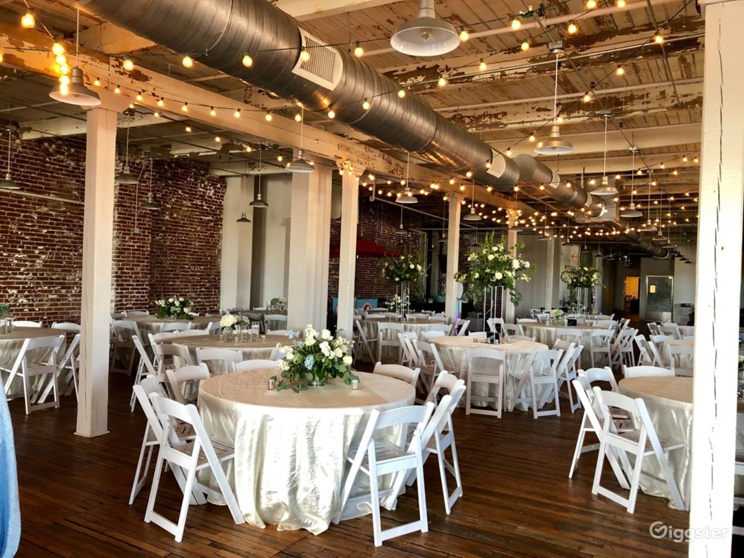 Spacious Event Space for Weddings in Memphis Photo 1