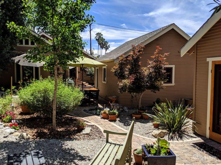Restored Pasadena bungalow for outdoor California.