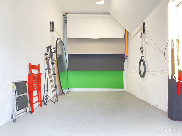 4 Backdrops included with equipment