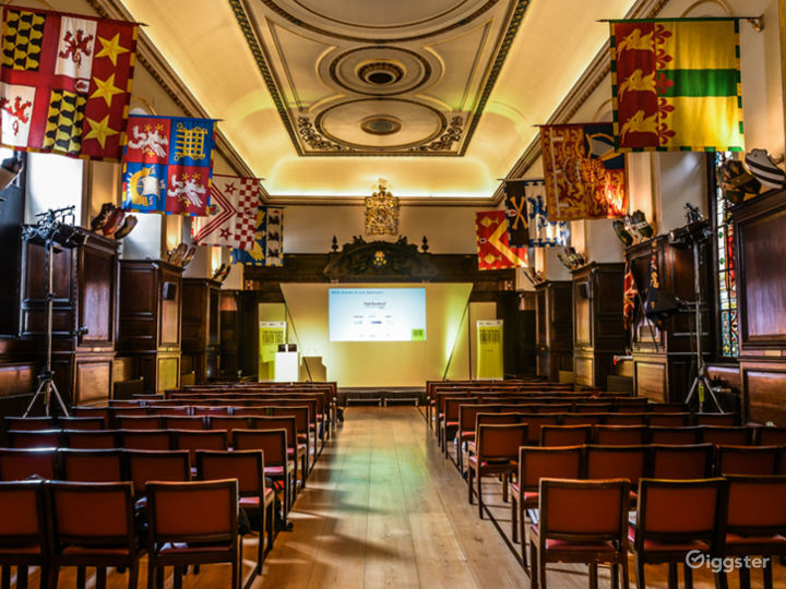 Large presentation hall in City of London