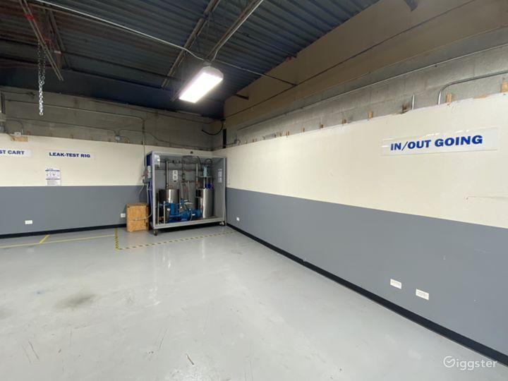 main workshop area