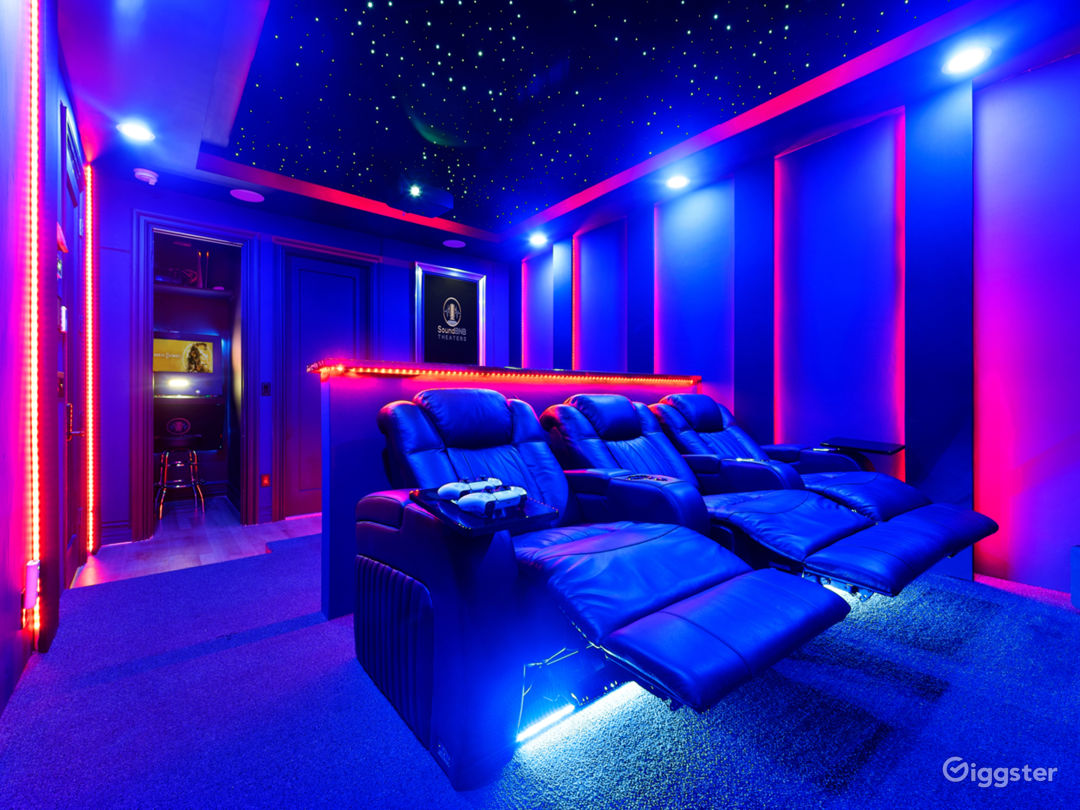 Starlit Luxury Movie Theater Photo 1