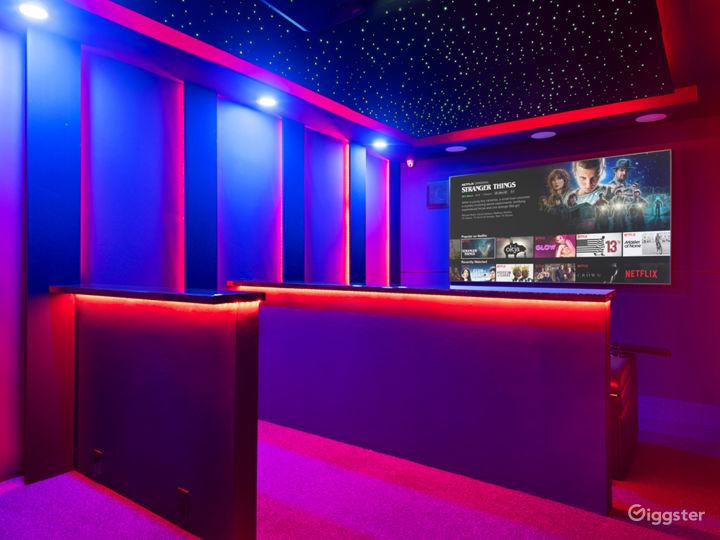Starlit Luxury Movie Theater Photo 4
