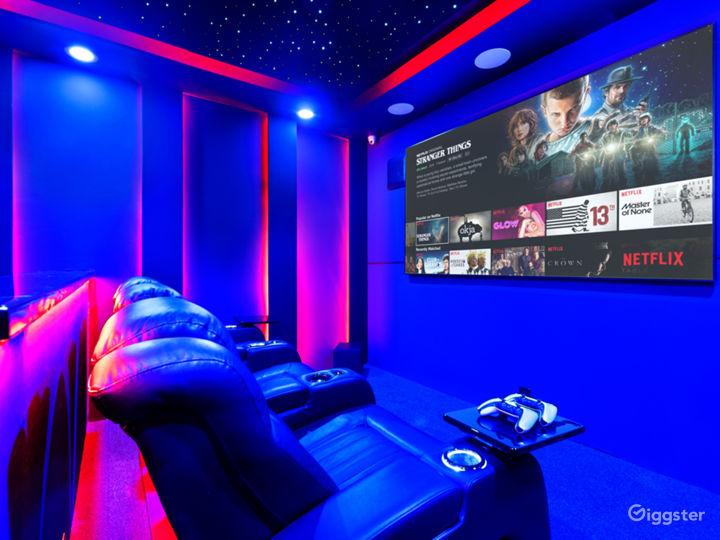 Starlit Luxury Movie Theater Photo 3