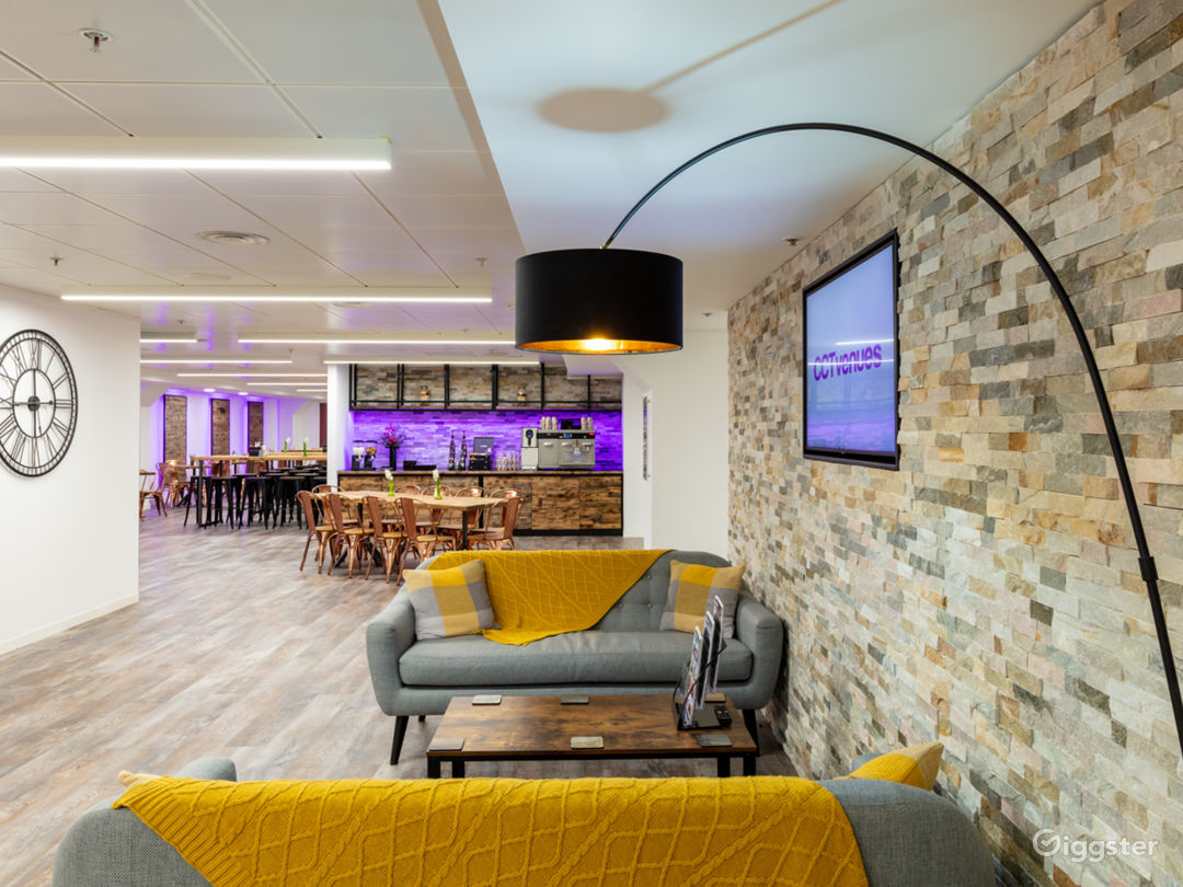 With creative spaces being at the forefront of our mind, the venue is complemented by an open plan reception, lounge and restaurant, all themed around London's historic markets.