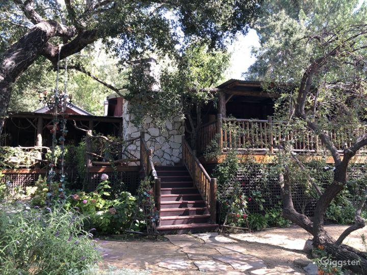 Malibu Canyon Log Cabin In Ranch Like Setting Photo 2