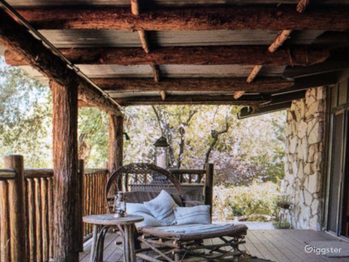 Malibu Canyon Log Cabin In Ranch Like Setting Photo 5