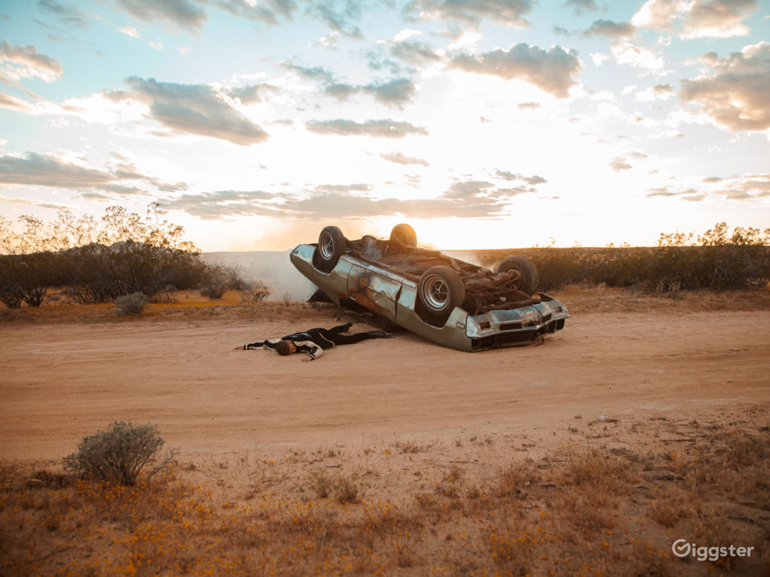 Desert Land Space Photo 1