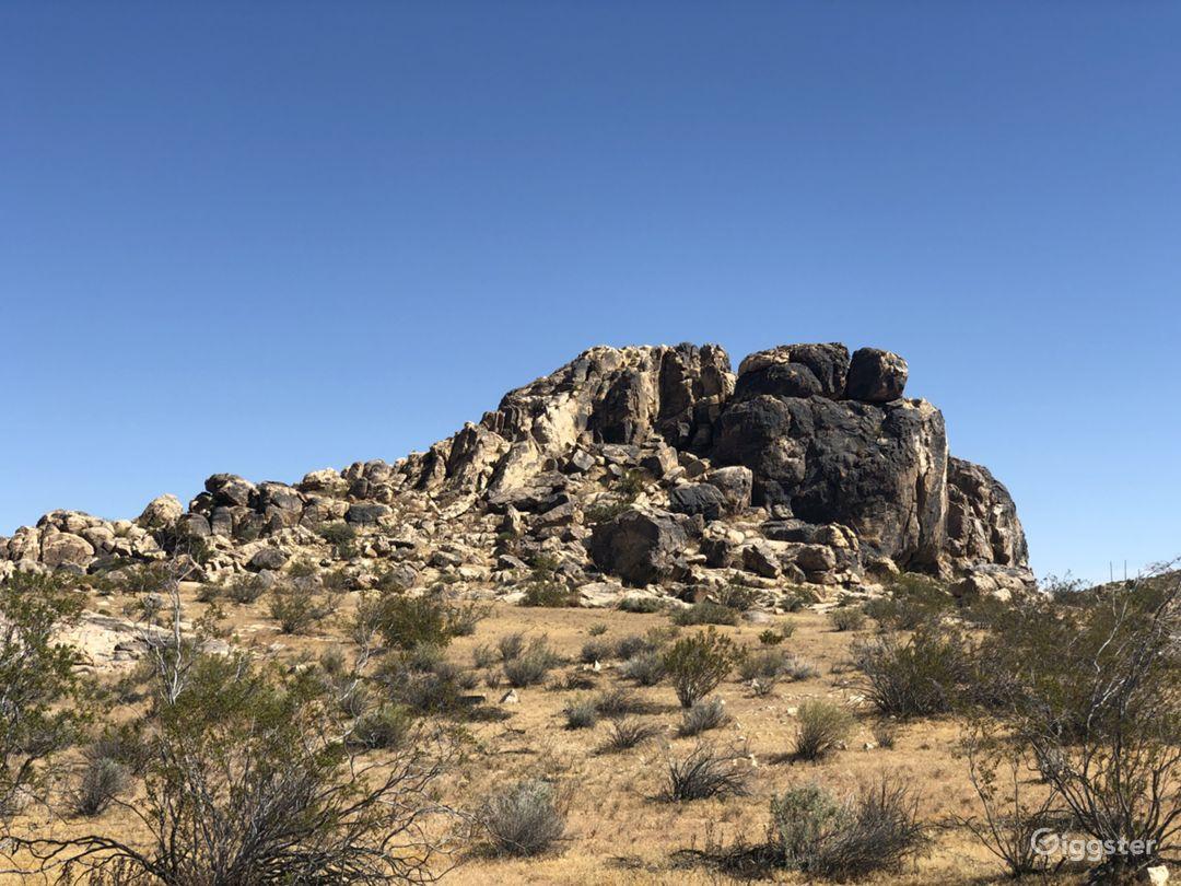 Desert Land Space Photo 2