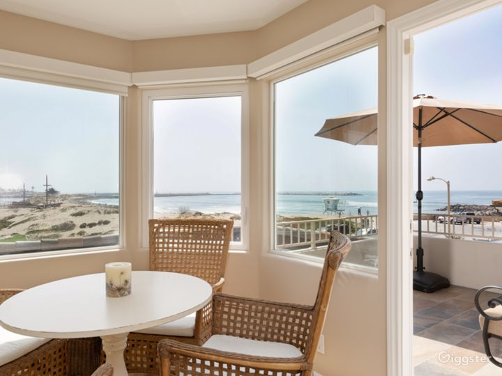 Large beach house with unobstructed ocean views.