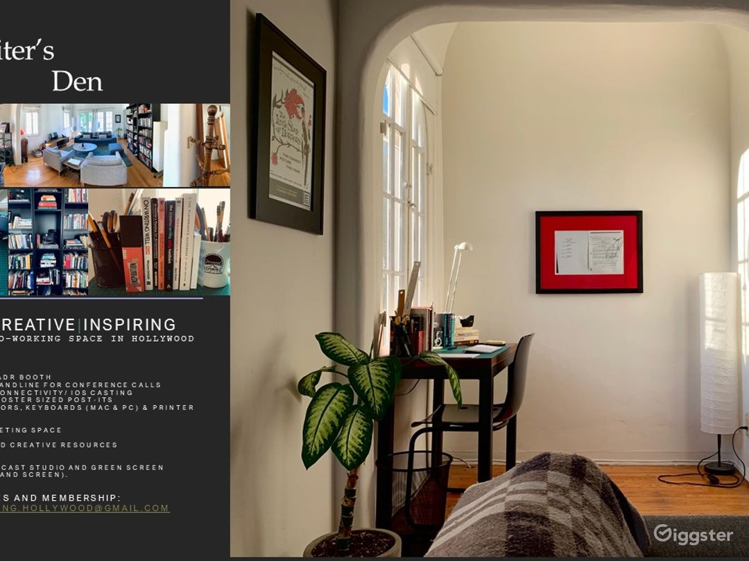 Creative Home Office w/ Digital Prod Space Photo 2