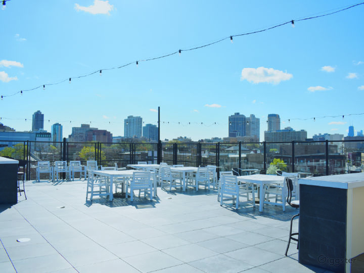 Rooftop Deck with Beautiful Skyline View Photo 2