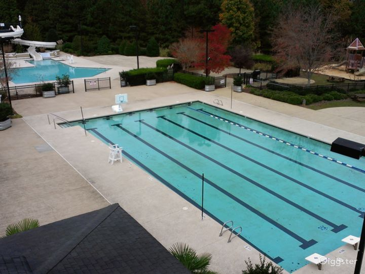 Poolside Event Space for Parties in Raleigh Photo 4