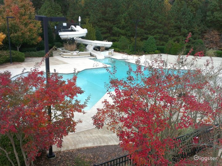 Poolside Event Space for Parties in Raleigh Photo 5