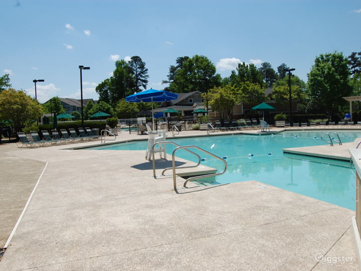 Poolside Event Space for Parties in Raleigh Photo 2