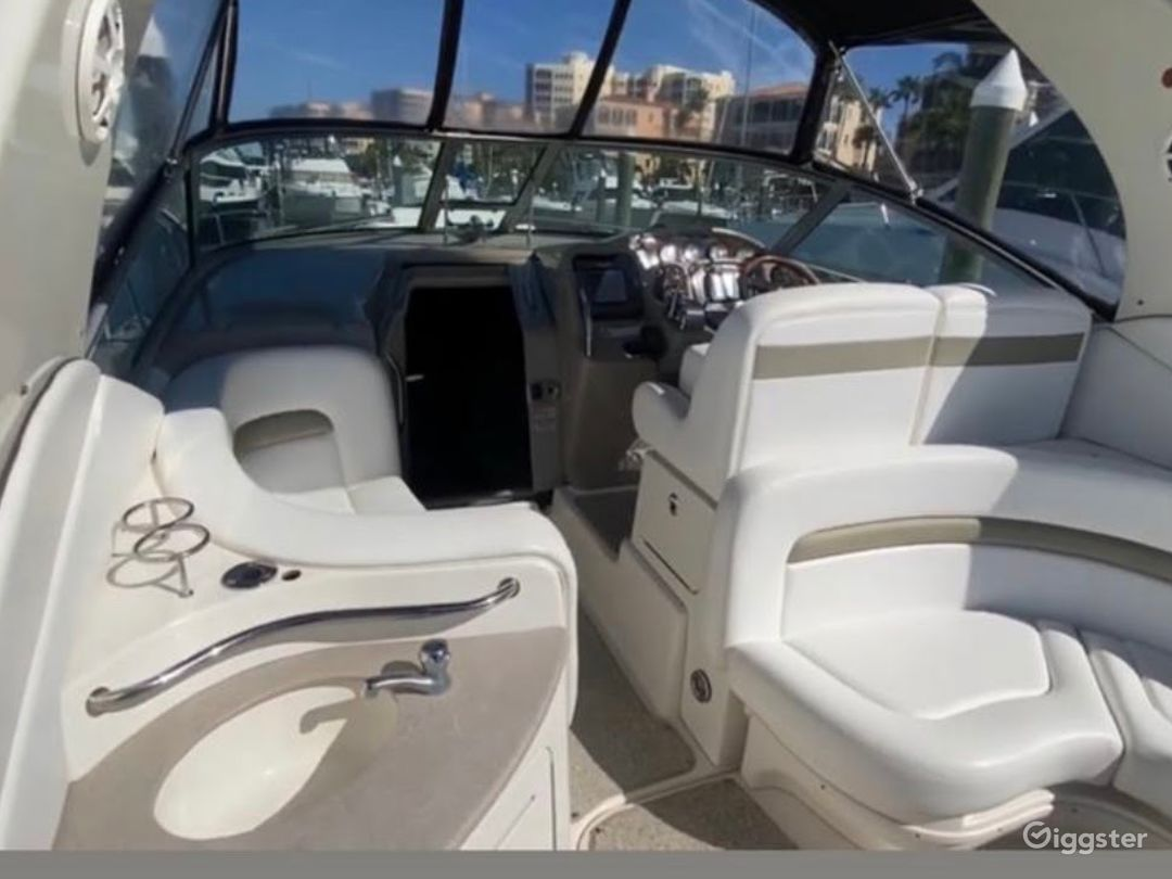 Charming 35FT Sea Ray Reinier Party Boat Space Events Photo 1