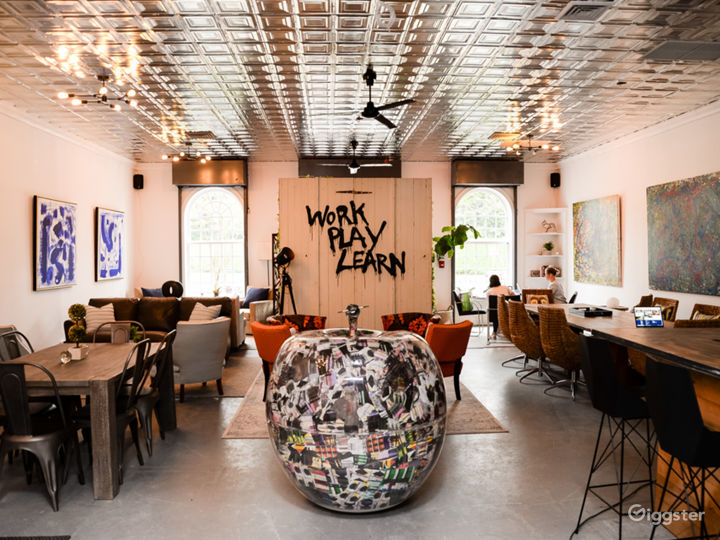19th century warehouse with rustic & modern charm