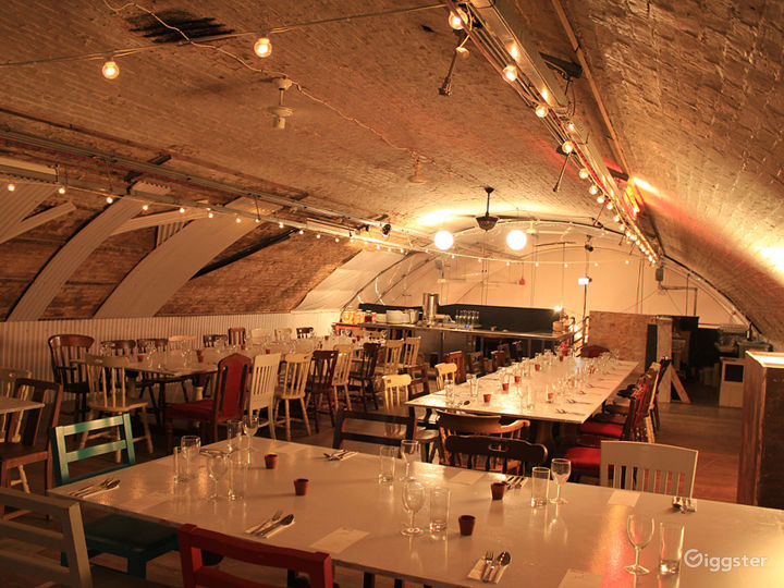 Curated Show Kitchen in London underneath the Waterloo station Photo 2